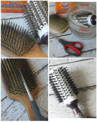 Ecco come le spazzole tornano nuove e pulite