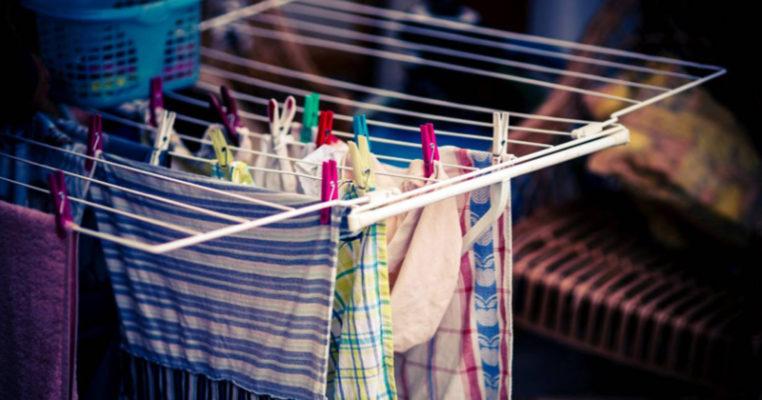 Asciugare il bucato in casa fa male alla salute