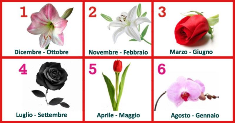 La tua data di nascita rappresenta un fiore