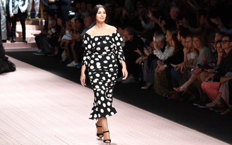 Dolce & Gabbana e le curve in passerella