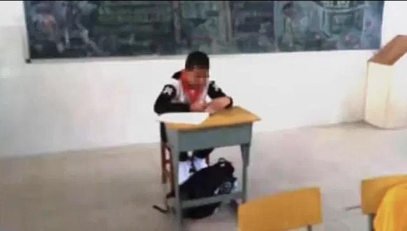 Studente isolato