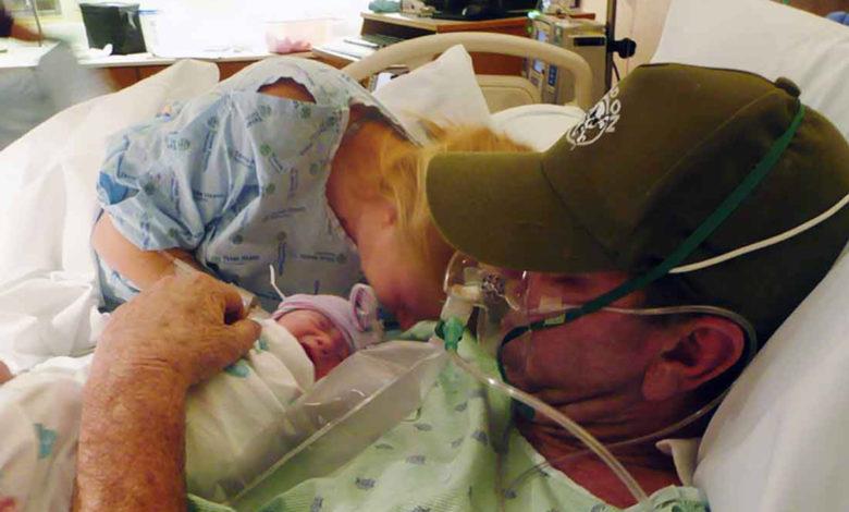Anticipa il parto e il marito vede la bimba almeno una volta