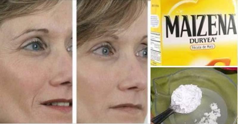 Maschera per eliminare rughe