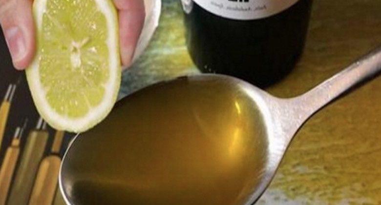 Ricostituente all'olio e al limone