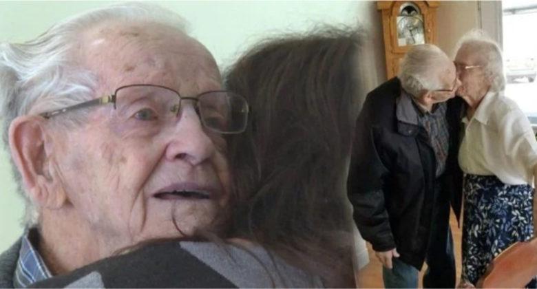 Coppia di anziani costretta a separarsi dopo 69 anni insieme
