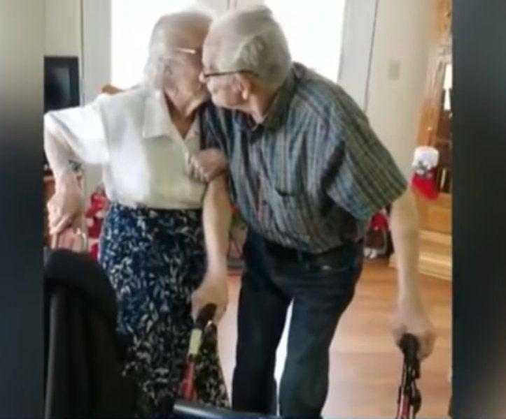 Coppia di anziani costretta a separarsi