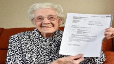 Photo of Anziana di 99 anni riceve una lettera dall'ospedale in cui la informano che è incinta