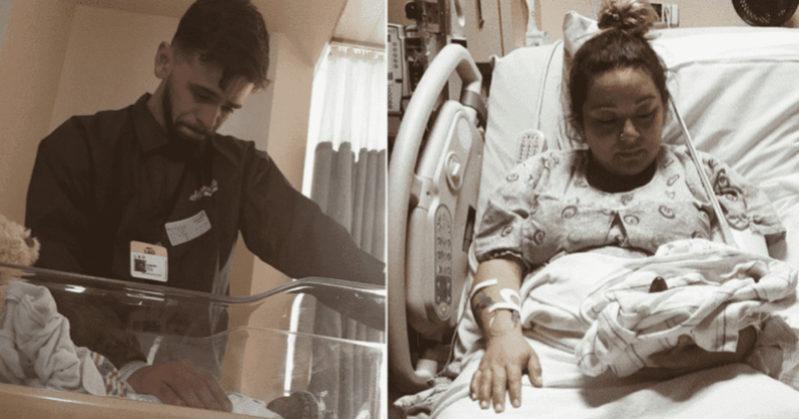 Neonato scivola dalle mani del medico e cade sul pavimento