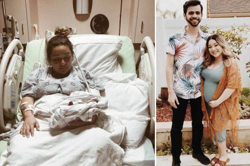 Il neonato scivola dalle mani del medico e cade sul pavimento