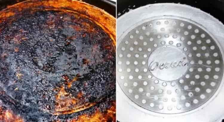 pentole bruciate