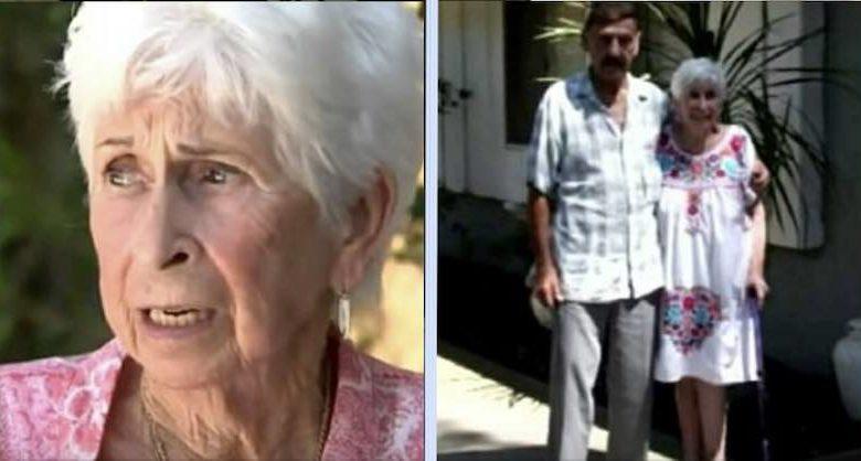 coppia di anziani sfrattata da casa
