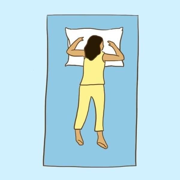 9 posizioni per dormire: ipertensione