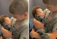 Photo of L'amore che prova per suo fratello con la sindrome di down non ha limiti