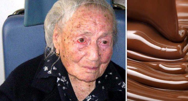 la cioccolata è segreto di longevità