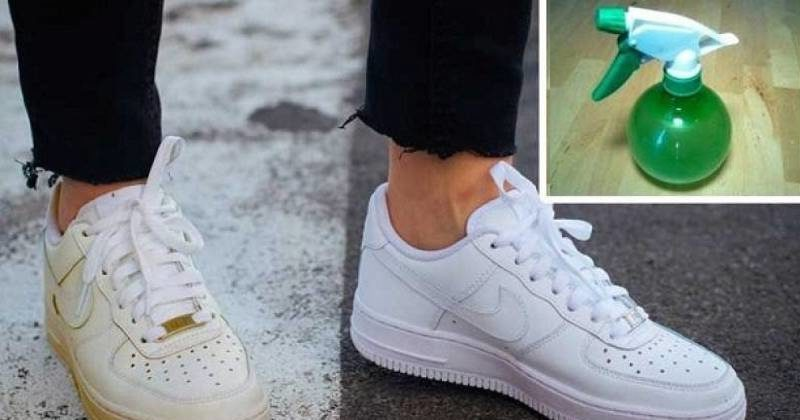 rimedi scarpe bianche