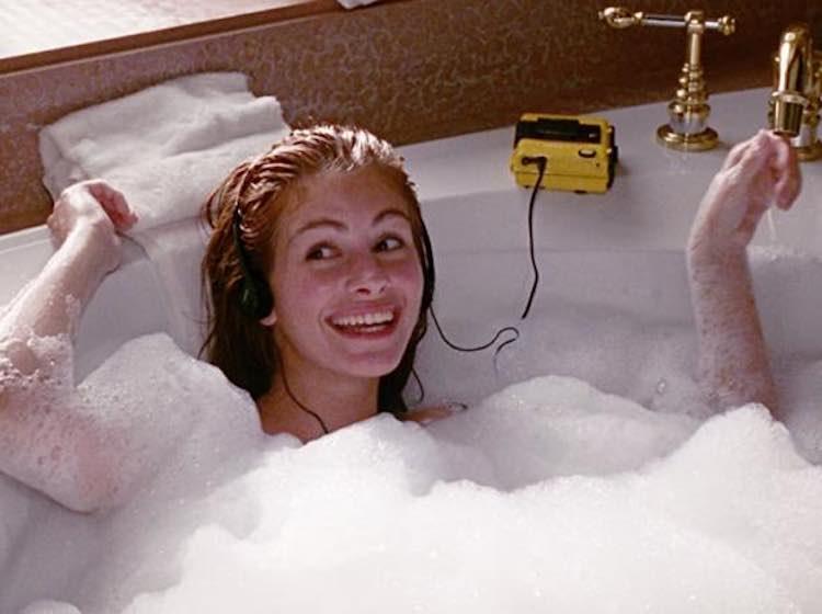 un bagno caldo fa dimagrire