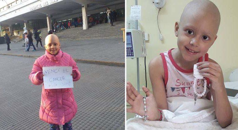 bambina sconfigge il cancro