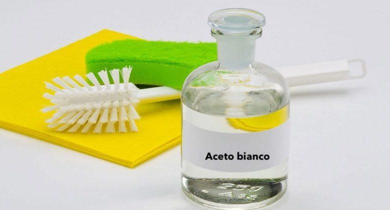 utilizzi alternativi aceto bianco
