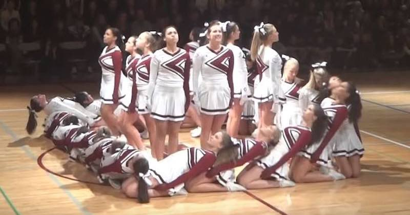 coreografia delle cheerleader