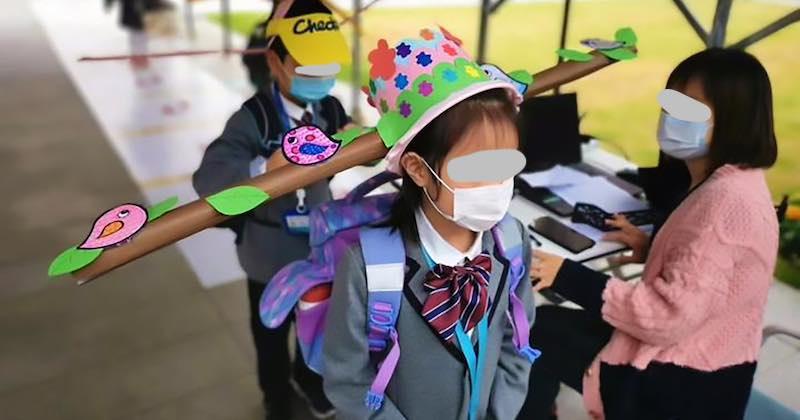 Cina il cappello speciale