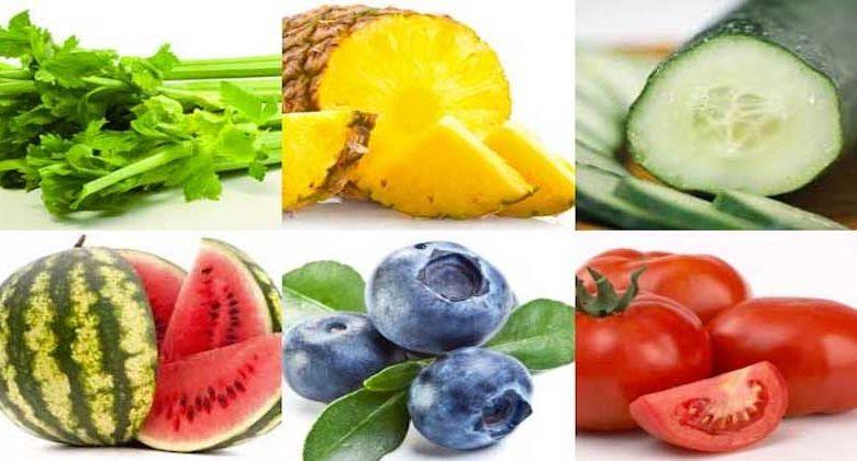 Gli alimenti più diuretici