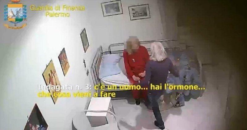 anziani picchiati palermo
