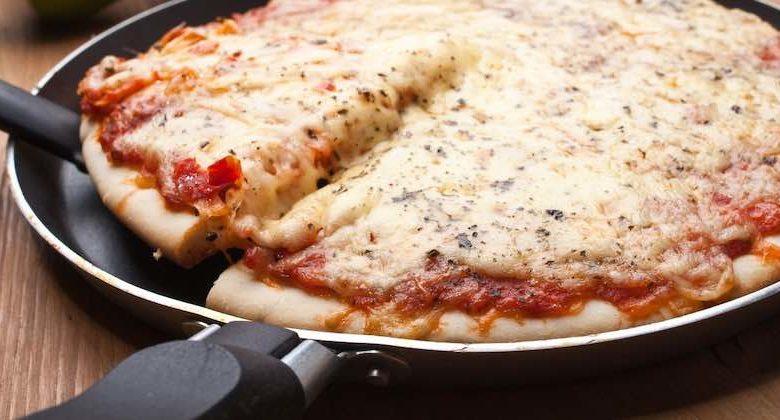 come fare pizza veloce in padella