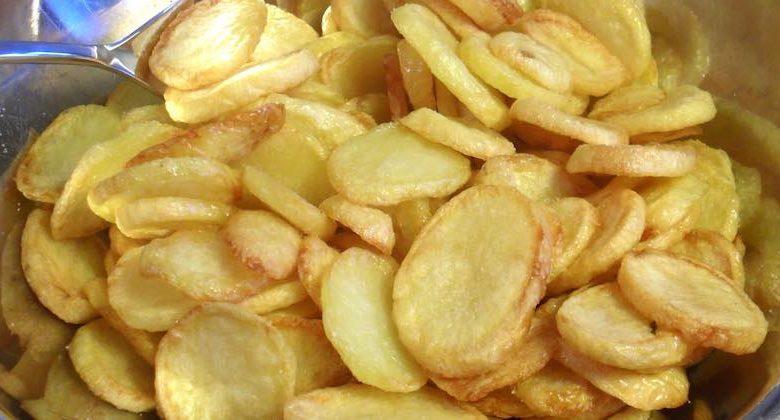 patatine croccanti al forno