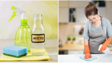 Photo of Come utilizzare l'aceto per rendere la tua casa pulita e scintillante