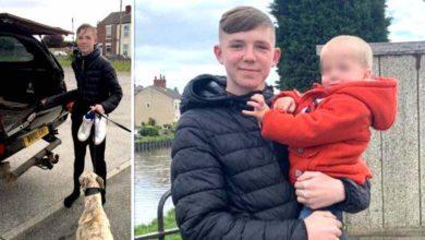 Photo of Un adolescente coraggioso ha salvato un bambino di 15 mesi che stava annegando