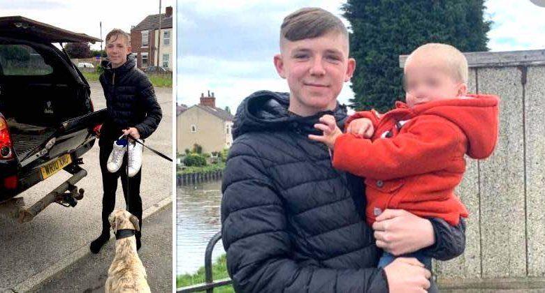 Un adolescente coraggioso ha salvato un bambino