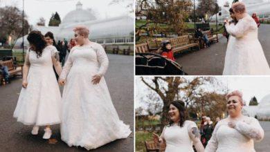 Photo of Due donne si sposano e un bambino le paragona a due principesse