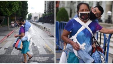 Photo of In piena pandemia chiede la carità con il figlio disabile sulle spalle