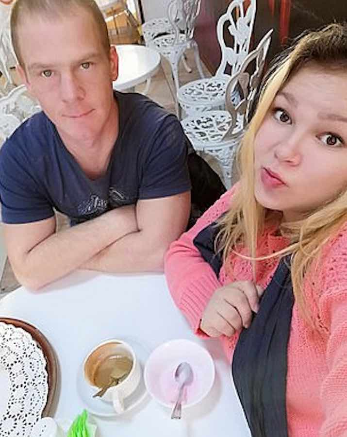 Margarita Yanayeva e Alexey