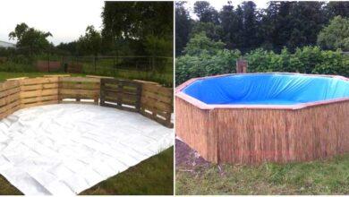 Photo of Come costruire una piscina utilizzando i pallet di legno