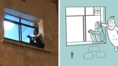 Photo of Un giovane scala il muro dell'ospedale per vedere la madre morire di Covid-19
