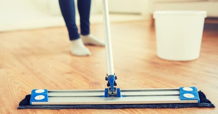 Per igienizzare il pavimento