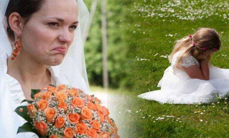 Si sposa ma non vuole la figlia del suo fidanzato