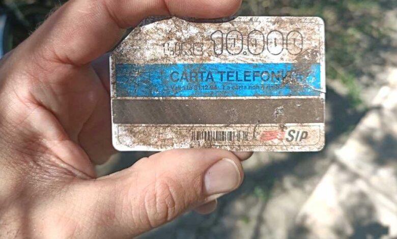 Tessera telefonica da 10.000 lire