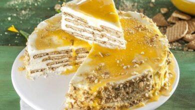 Photo of Torta di biscotti senza burro, pronta in un istante, è buonissima