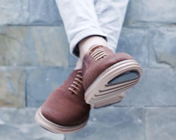 scarpe chicchi di caffè