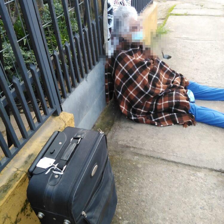 Anziana sfrattata finisce in strada
