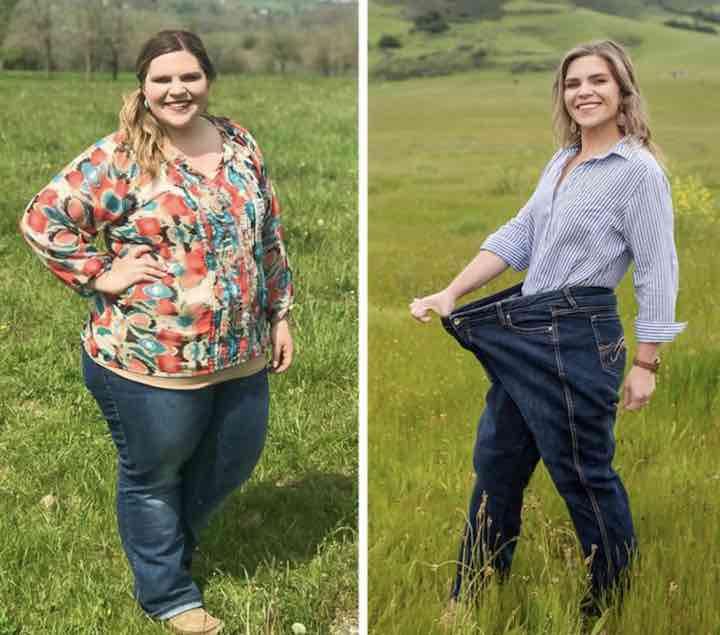 donna perde 60 chili prima e dopo