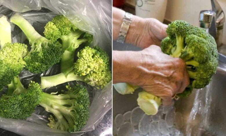Come pulire i broccoli parassiti