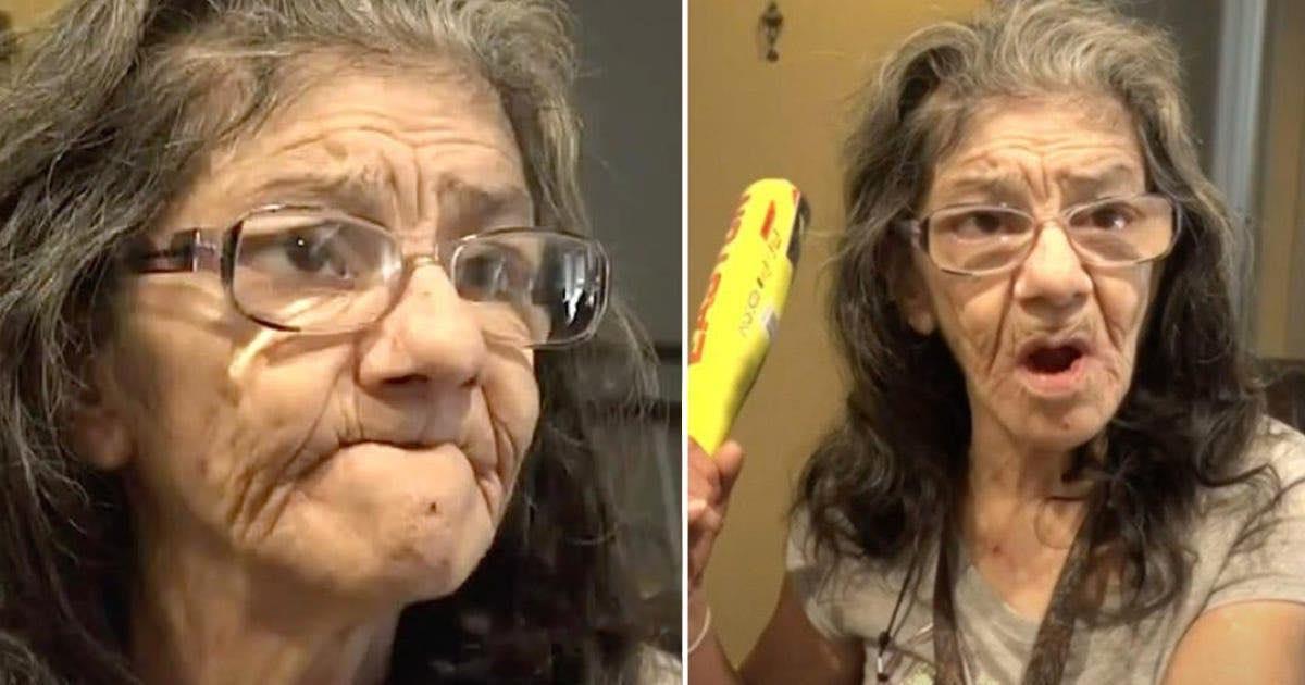 Ladro donna di 67 anni