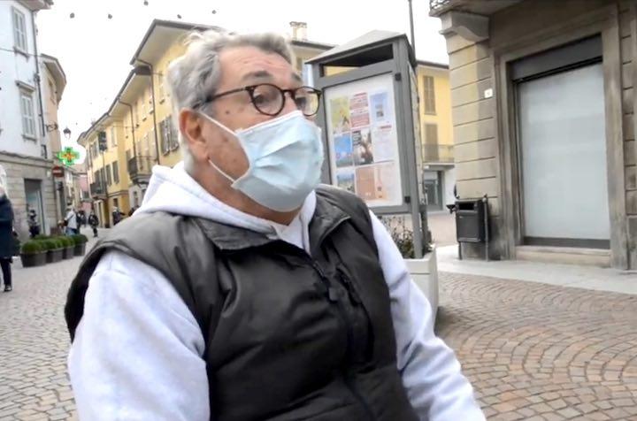 anziano multa da 400 euro che legge il giornale Treviglio