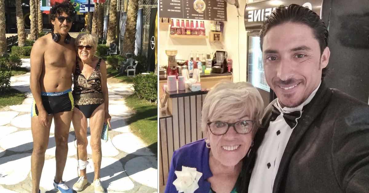 Una donna di 81 anni sposa un ragazzo di 35