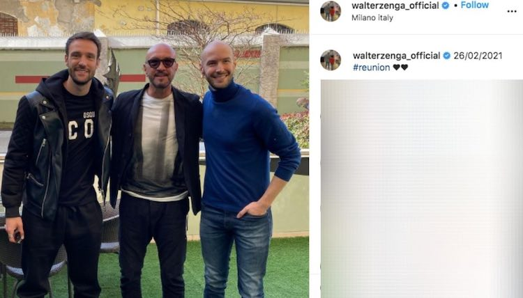 Walter Zenga vola Italia figli
