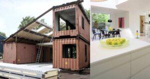 Il progetto mozzafiato di una villa economica